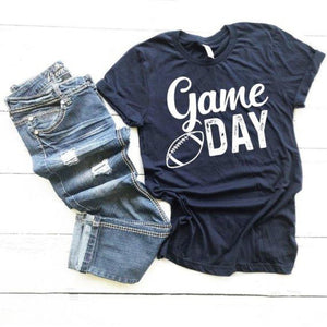 """Game Day"" - Football edition Graphic T-Shirt"
