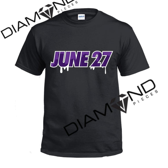 June 27th Graphic T-Shirt