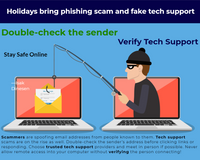 Holidays bring phishing scam surge aimed at small businesses and Home Users