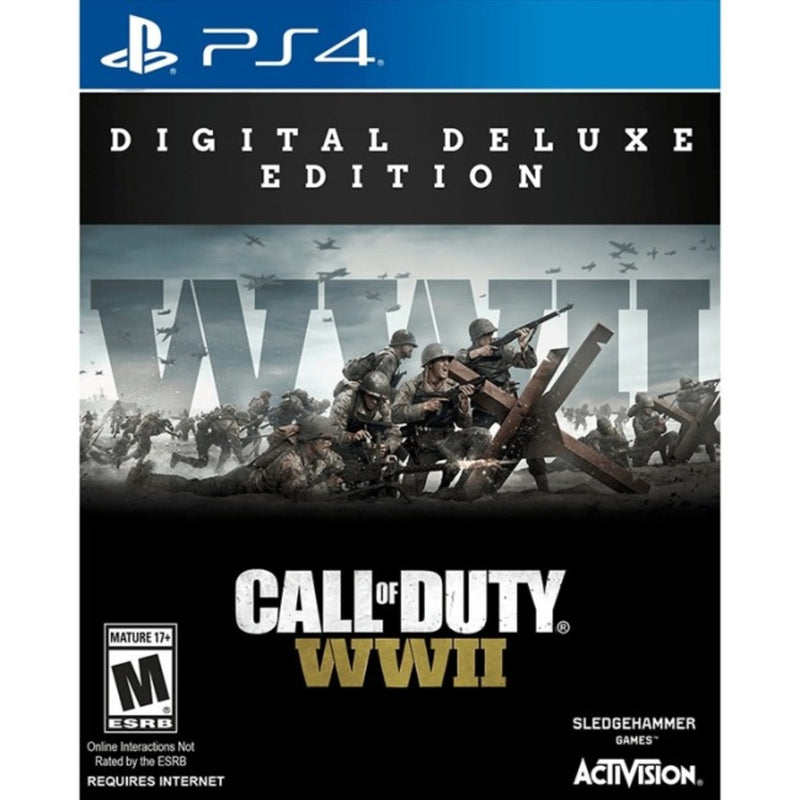Activision Call of Duty: WWII - First Person Shooter - PlayStation 4