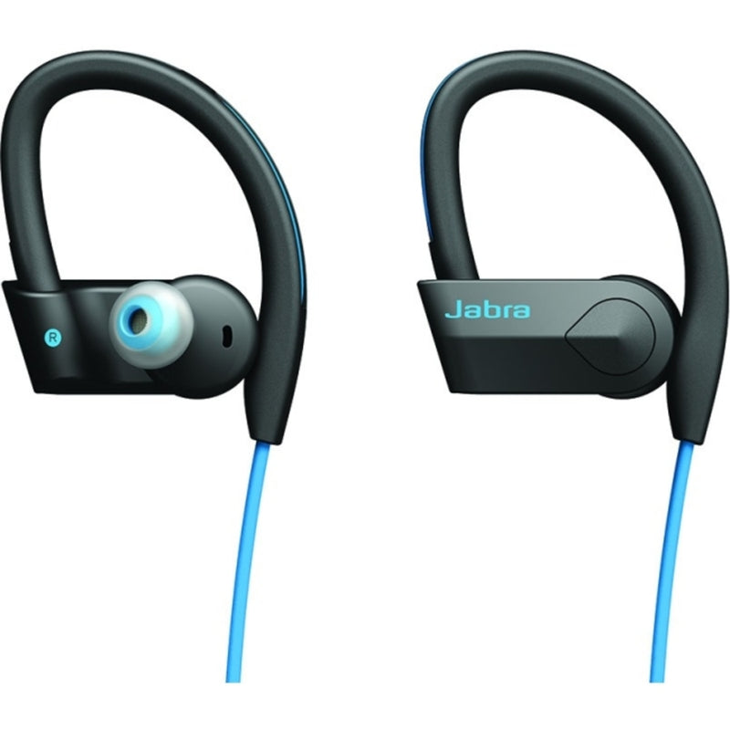 Jabra Sport Pace Wireless Earset - Stereo - Blue/Black - Wireless - Bl