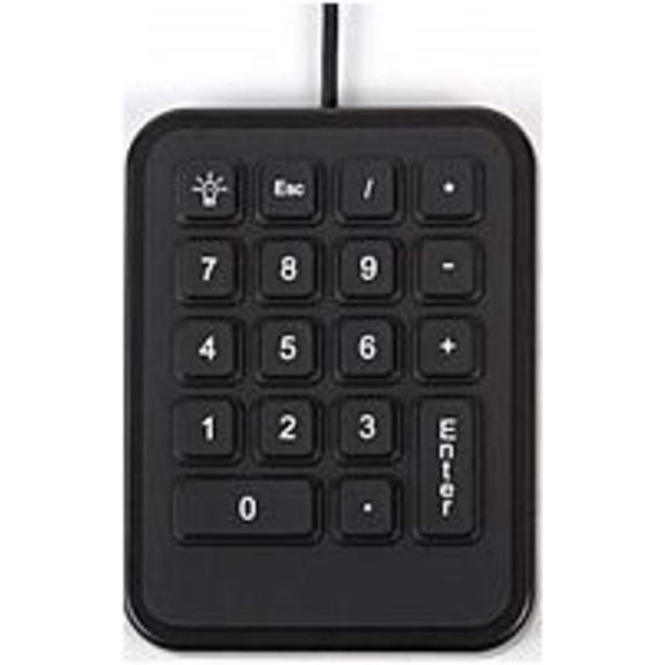 iKey IK-18-USB Mobile Numeric Keypad - Green Backlit