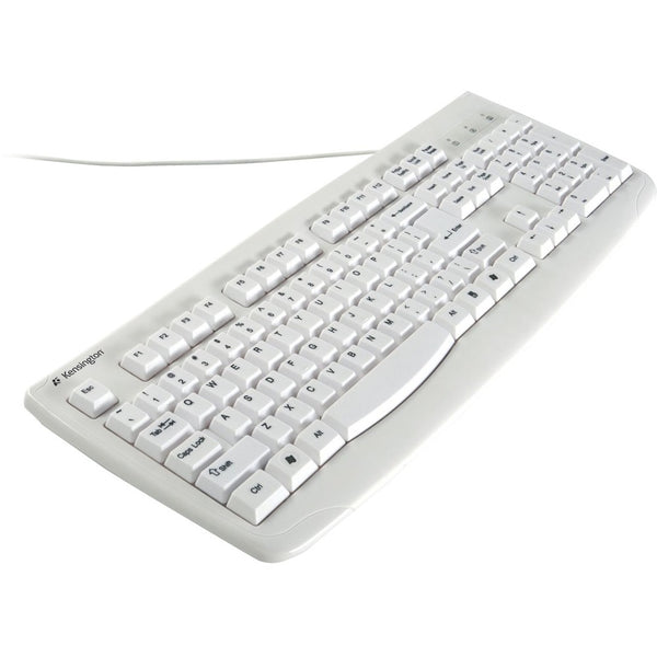 Kensington K64406US Washable USB/PS2 Keyboard - USB, PS/2 - 104 Keys -
