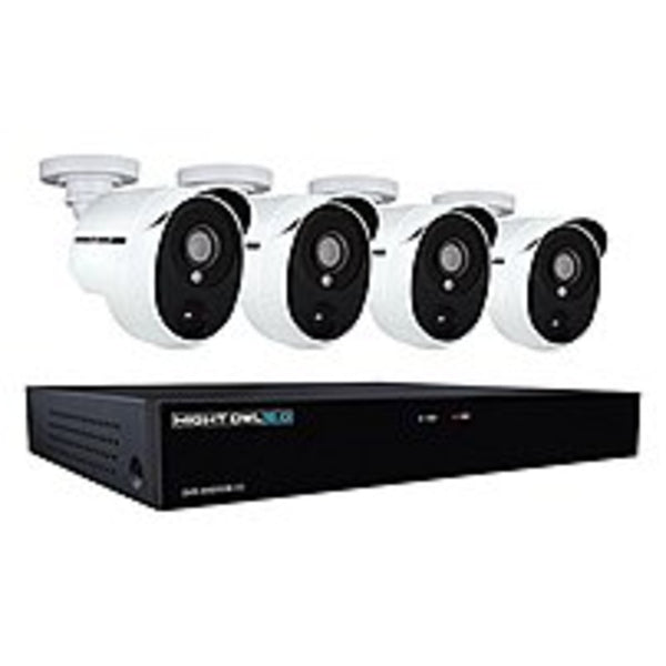 Night Owl XHD501-44P-B 4-Channel 5 MP Extreme HD Video Security DVR wi
