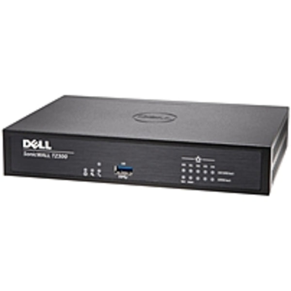 SonicWALL TZ300 Network Security/Firewall Appliance with 1 Year TotalS