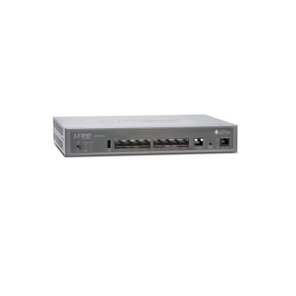 Juniper SRX110H2-VA 8x Ports Service Rack Mountable Security Appliance