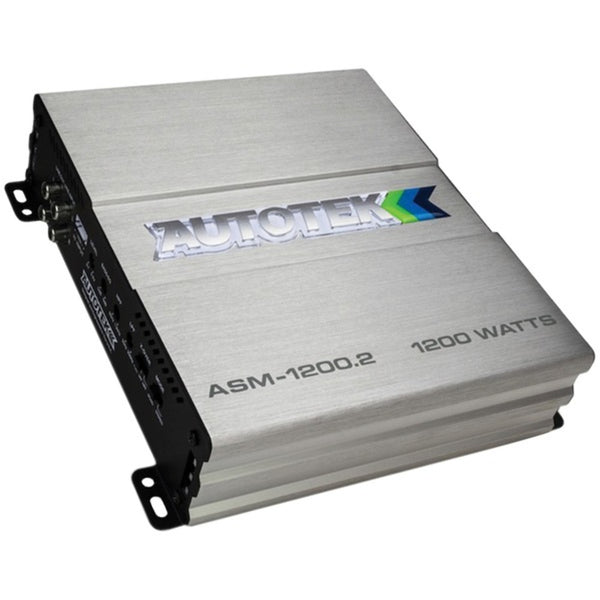 Autotek ASM-1200.2 ASM Series Street Machine Class AB Amp (2 Channels, 1,200 Watts)