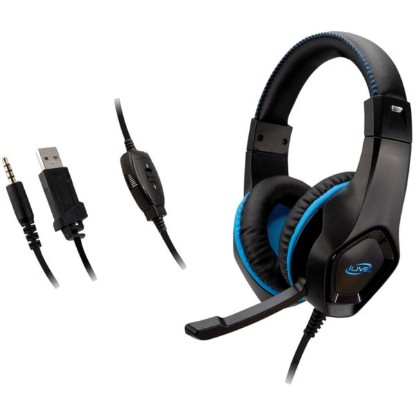 iLive IAHG19B IAHG19B Gaming Headphones