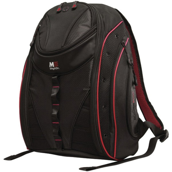 "Mobile Edge MEBPE72 16"" PC/17"" MacBook Express 2.0 Backpack, Red"
