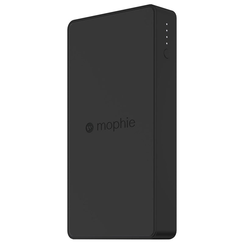Mophie Charge Force Powerstation - For USB Device, Smartphone, Tablet PC - Lithium Polymer (Li-Polymer) - 10000 mAh - 5 V DC Output - 5 V DC Input - 2 x - Black
