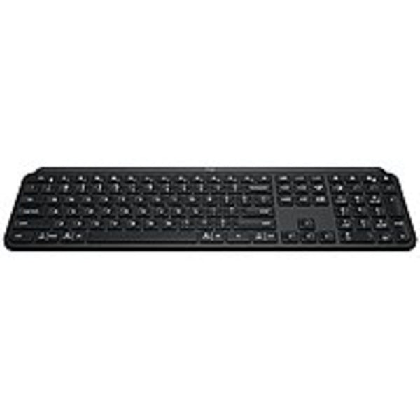 Logitech MX Keys Keyboard - Wireless Connectivity - Bluetooth/RF - 32.
