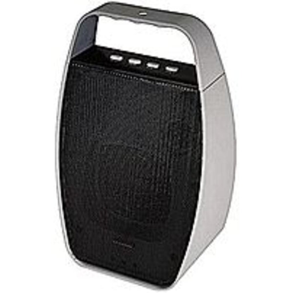 NXG Technology NX-WRLSM-GRAY Portable Wireless Bluetooth Speaker - Wea