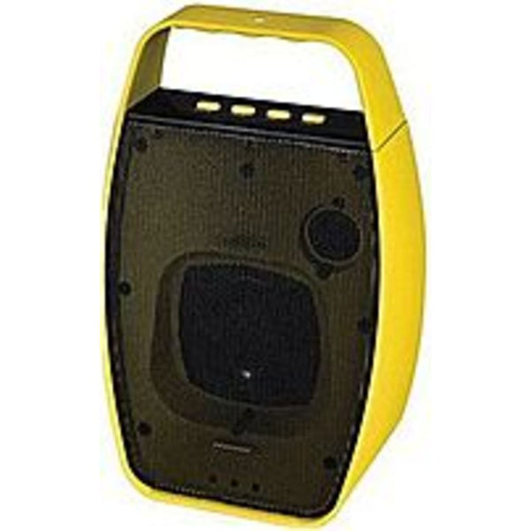 NXG Technology NX-WRLSM-YELLOW Wireless Bluetooth Speaker - Weather Re