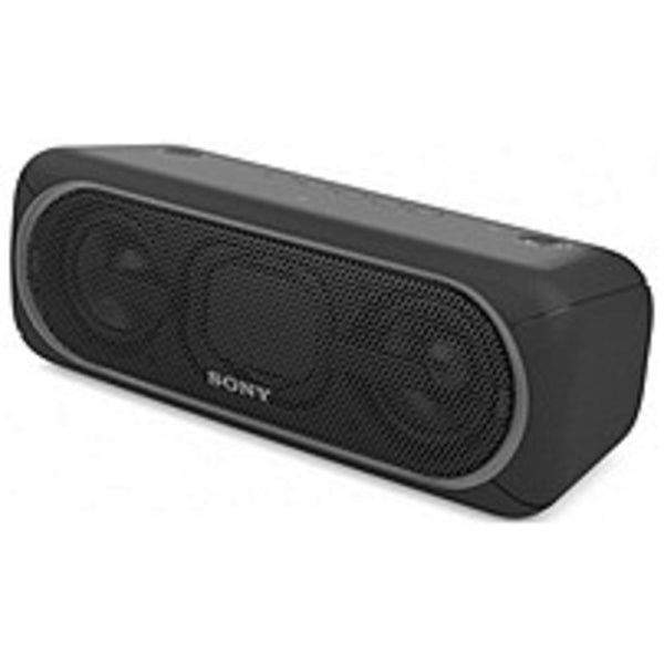 Sony SRS-XB40/BLK EXTRA BASS Wireless Bluetooth Speaker with Flashy Li
