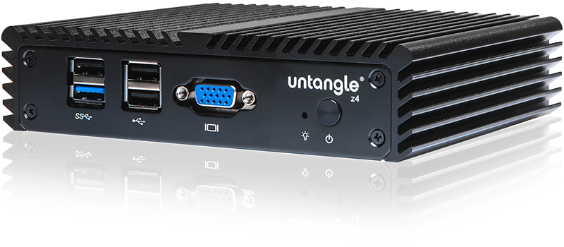 Untangle z4 Firewall