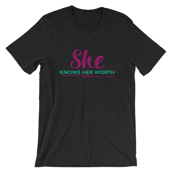 She Knows Her Worth Tee