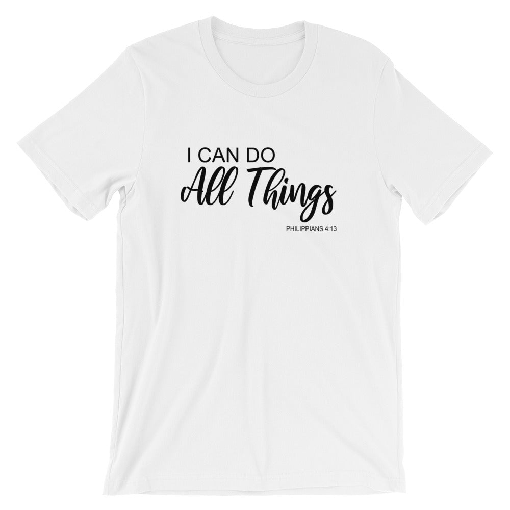 I Can Do All Things Tee (black)