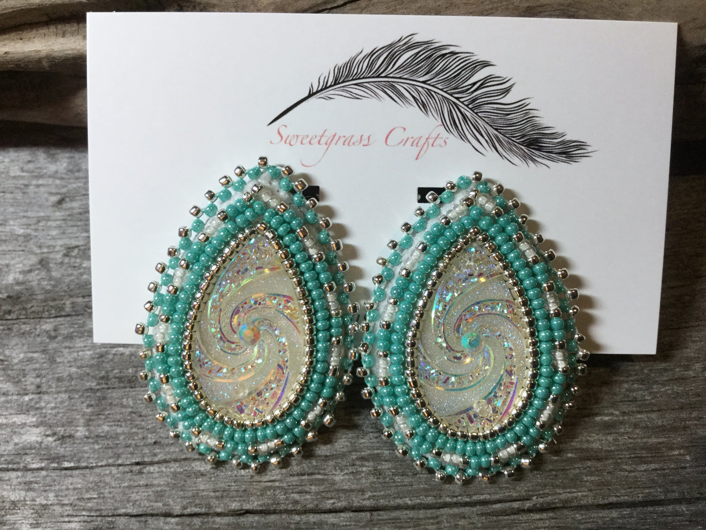 native american wedding earrings