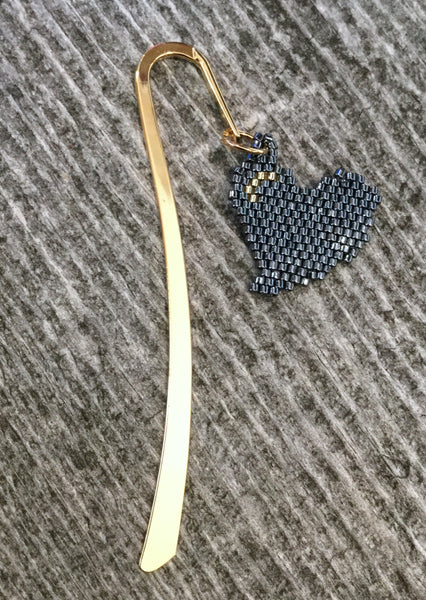 beaded book mark