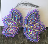 native a erican indigenous beaded earrings