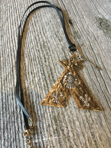 Teepee necklaces