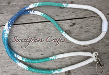 Oceans of blue lanyard