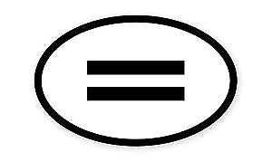 Equality Vinyl Decal