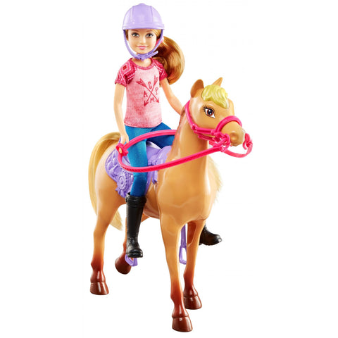 NEW Barbie Camping Fun Stacie Doll & Horse Set SAME DAY SHIPPING