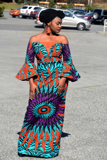 Chic afro dress