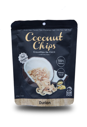 Panda Coco Durian Coconut Chips - Thai Roots Market