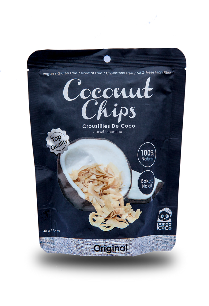 Panda Coco Original Flavor Toasted Coconut Chips