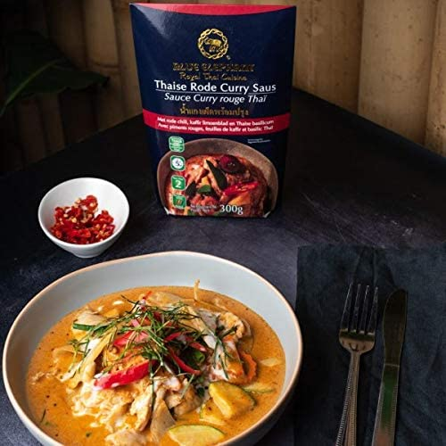 Blue Elephant Ready-to-Heat Red Curry Sauce Ready to Heat - Thai Roots Market