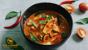 Blue Elephant Red Curry Cooking Set