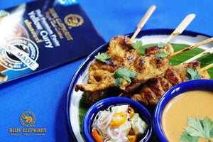 Blue Elephant Satay Cooking Set