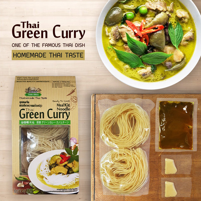 Thai Green Curry Noodle Meal Kit (Vegan)