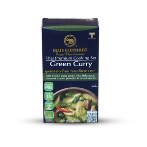 Blue Elephant Green Curry Cooking Set