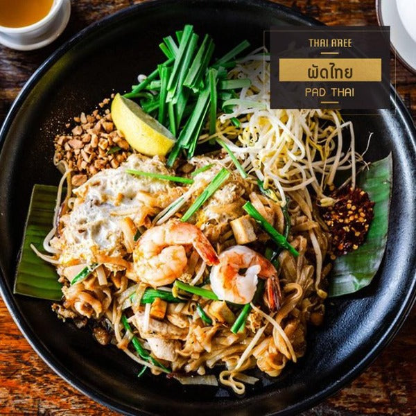 Authentic Pad Thai Meal Kit (with Noodle) Meal Kit - Thai Roots Market