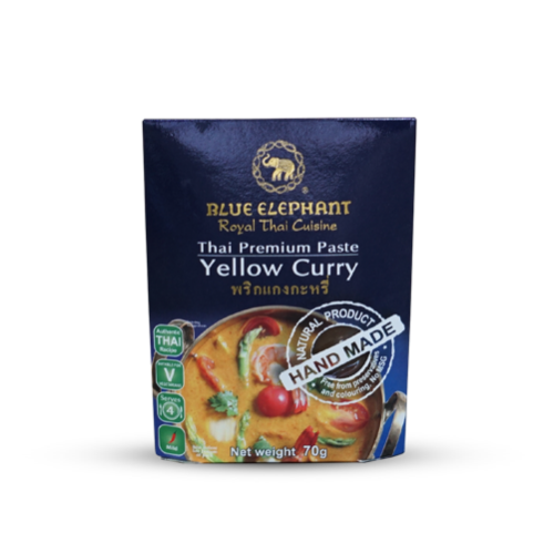Blue Elephant Yellow Curry Paste Curry Sachets - Thai Roots Market