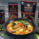 Blue Elephant Red Curry Paste Curry Sachets - Thai Roots Market