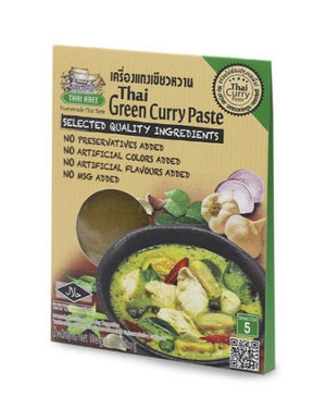Thai Green Curry Paste (Vegan) Curry Sachets - Thai Roots Market