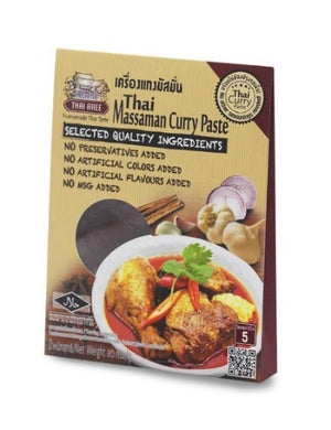 Thai Massaman Curry Paste Curry Sachets - Thai Roots Market
