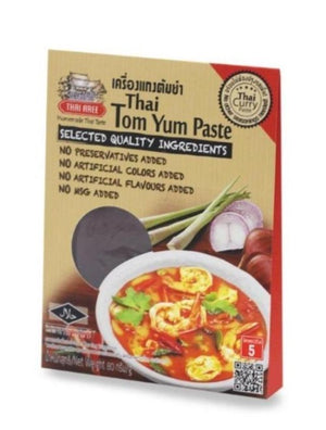 Thai Tom Yum Paste (Vegan) Curry Sachets - Thai Roots Market