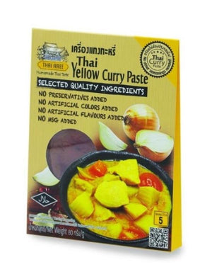 Thai Yellow Curry Paste Curry Sachets - Thai Roots Market