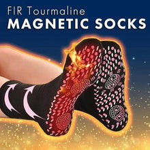 Load image into Gallery viewer, RECHARGEABLE COMFY HEATED ELECTRIC BATTERY-POWERED SOCKS
