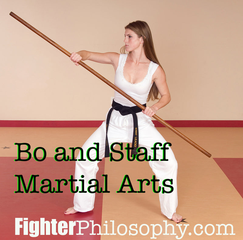 BO AND STAFF MARTIAL ARTS WEAPONS