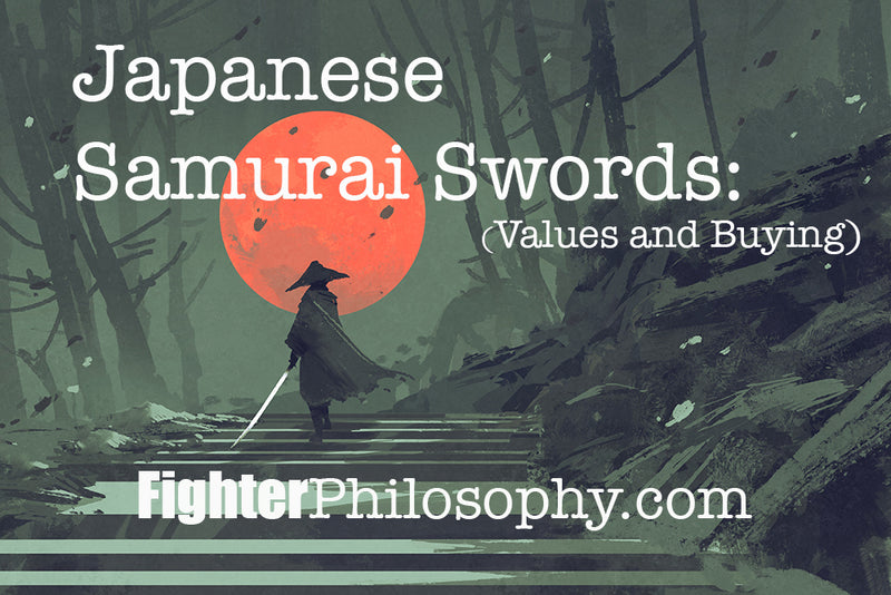 JAPANESE SAMURAI SWORDS: VALUES AND BUYING