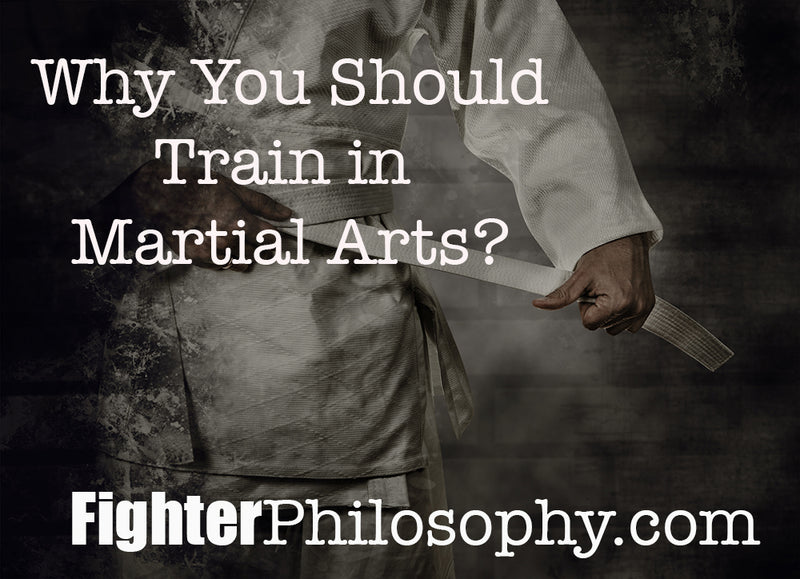 WHY YOU SHOULD TRAIN IN MARTIAL ARTS?