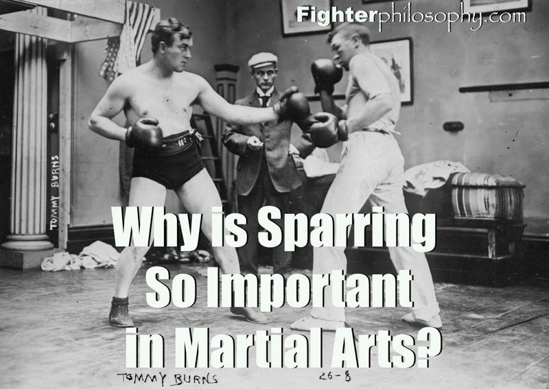 WHY IS SPARRING SO IMPORTANT IN MARTIAL ARTS?