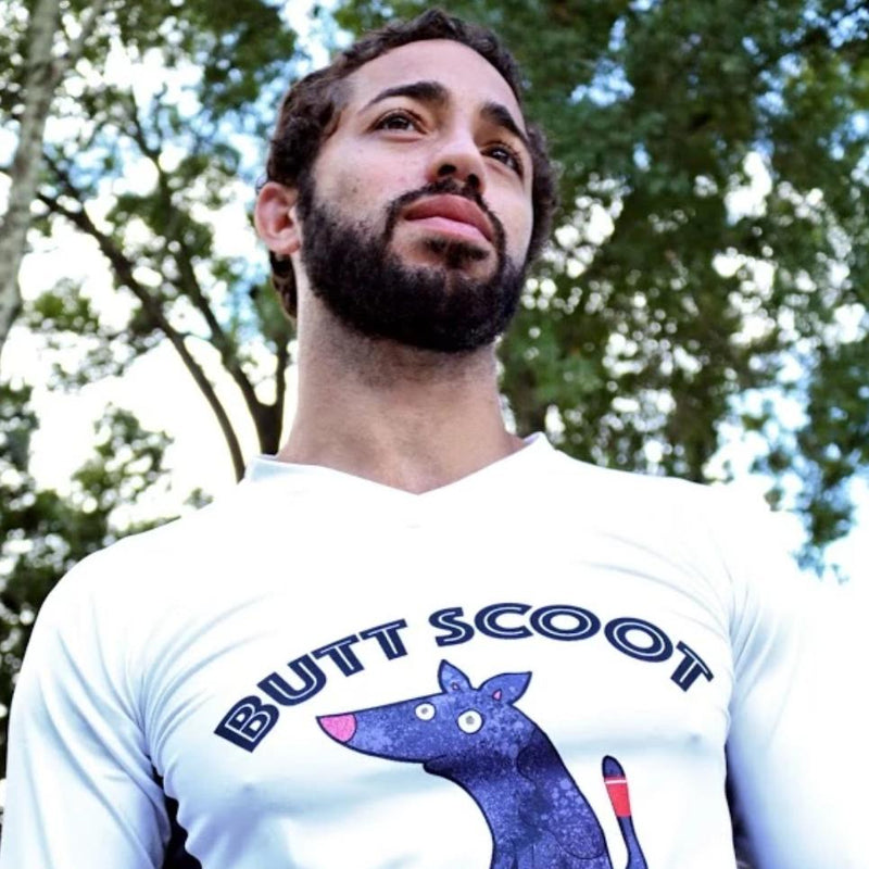 BUTT SCOOT JIU-JITSU T-SHIRT