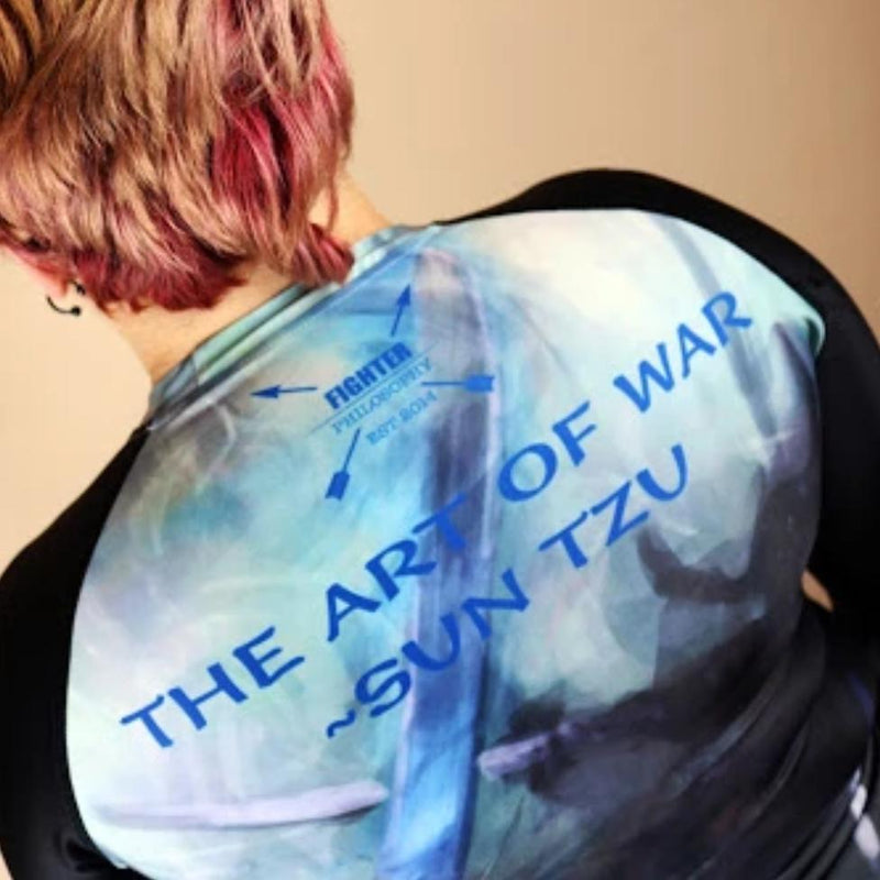 SUN TZU'S THE ART OF WAR CHAOS RASH GUARD